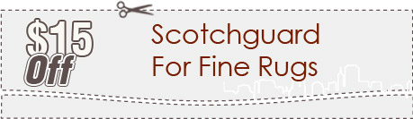 Cleaning Coupons | $15 off scotchguard for rugs | Carpet Cleaning Connecticut